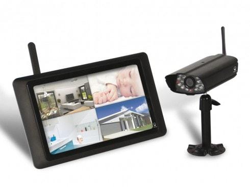 camera de surveillance intérieur et extérieur